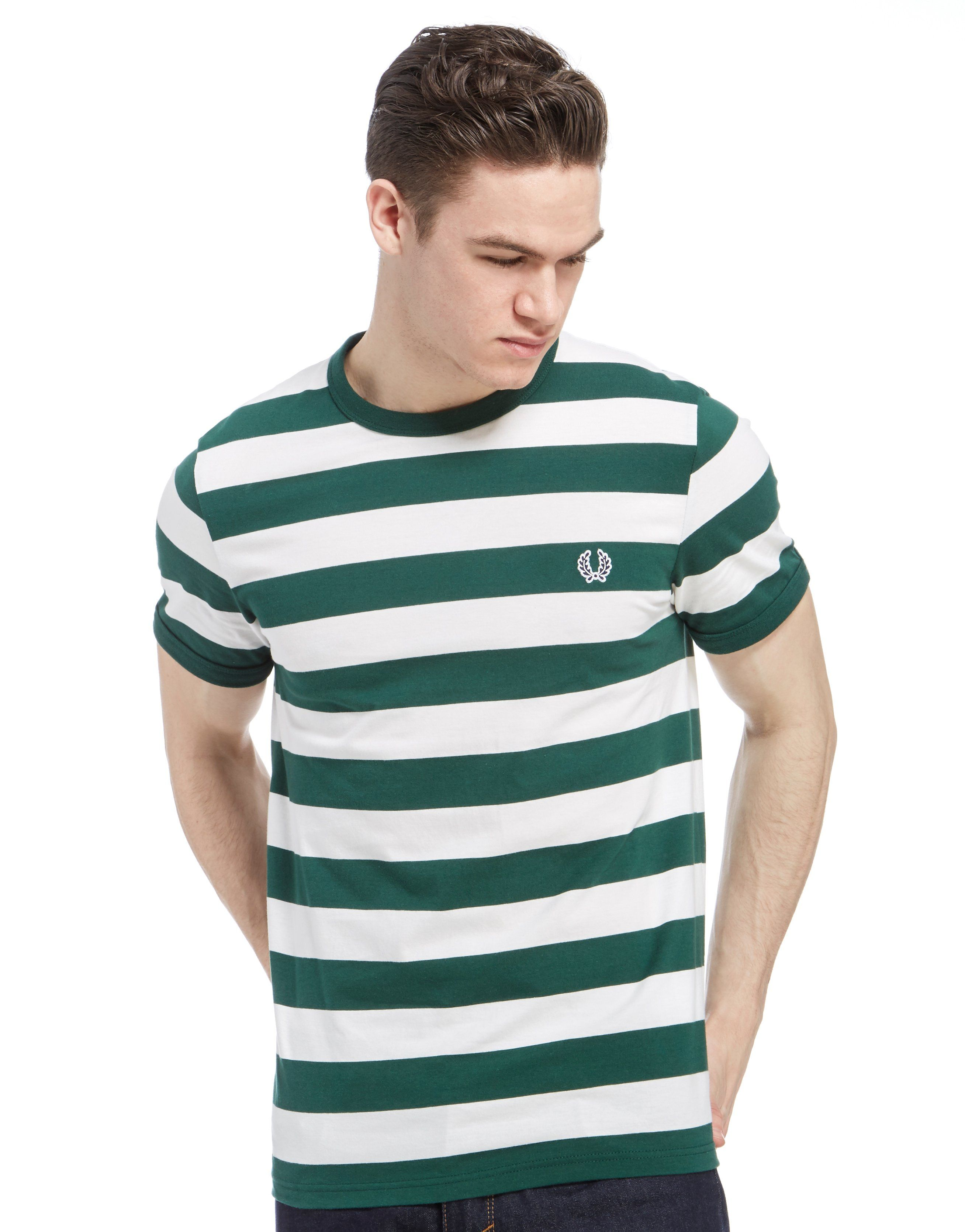 Fred Perry Striped Ringer T Shirt Jd Sports