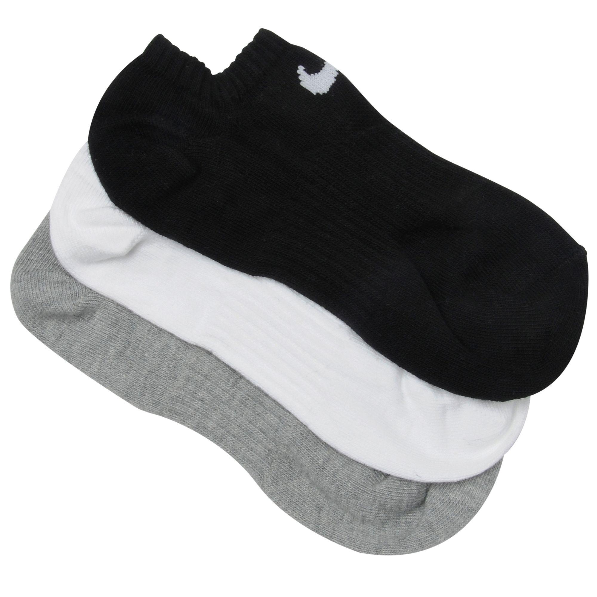 Nike Lot de 3paires de socquettes Low Ped