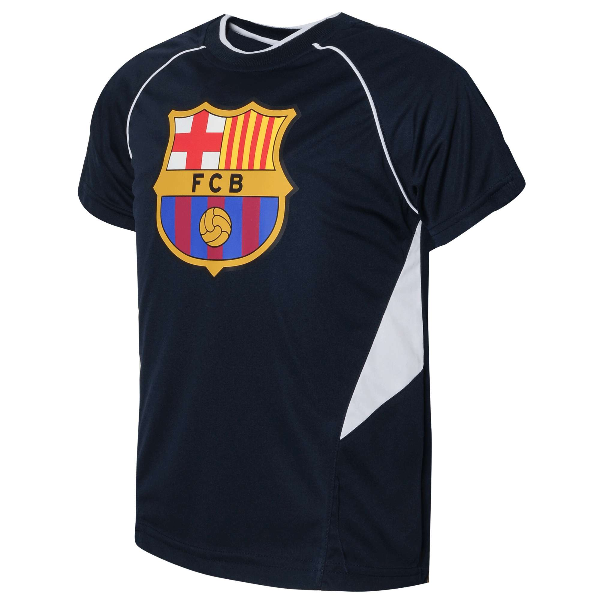 Official Team FC Barcelona Polyester T-Shirt
