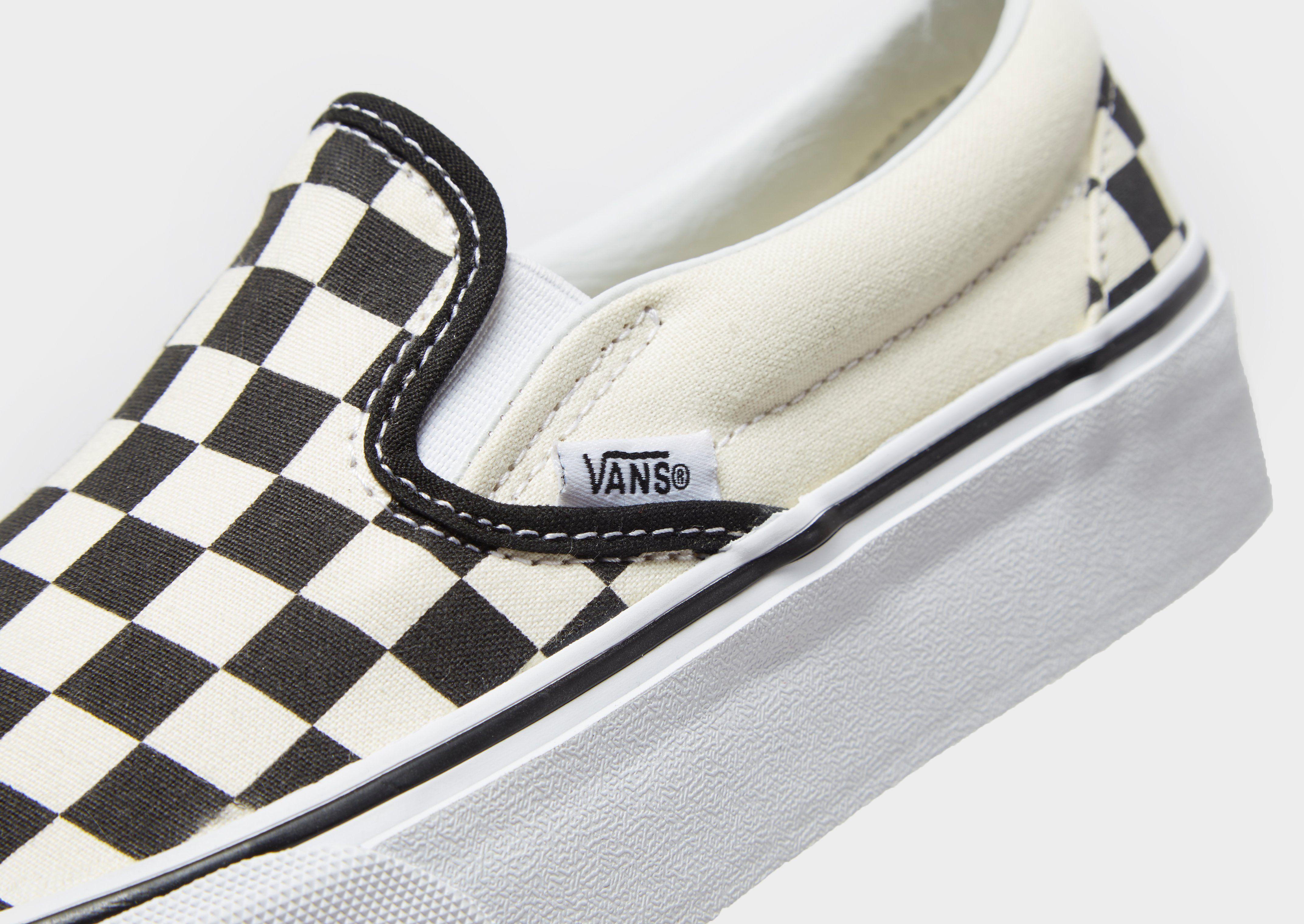 Vans Slip-On Platform Dame
