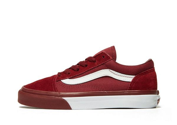 vans rood old skool