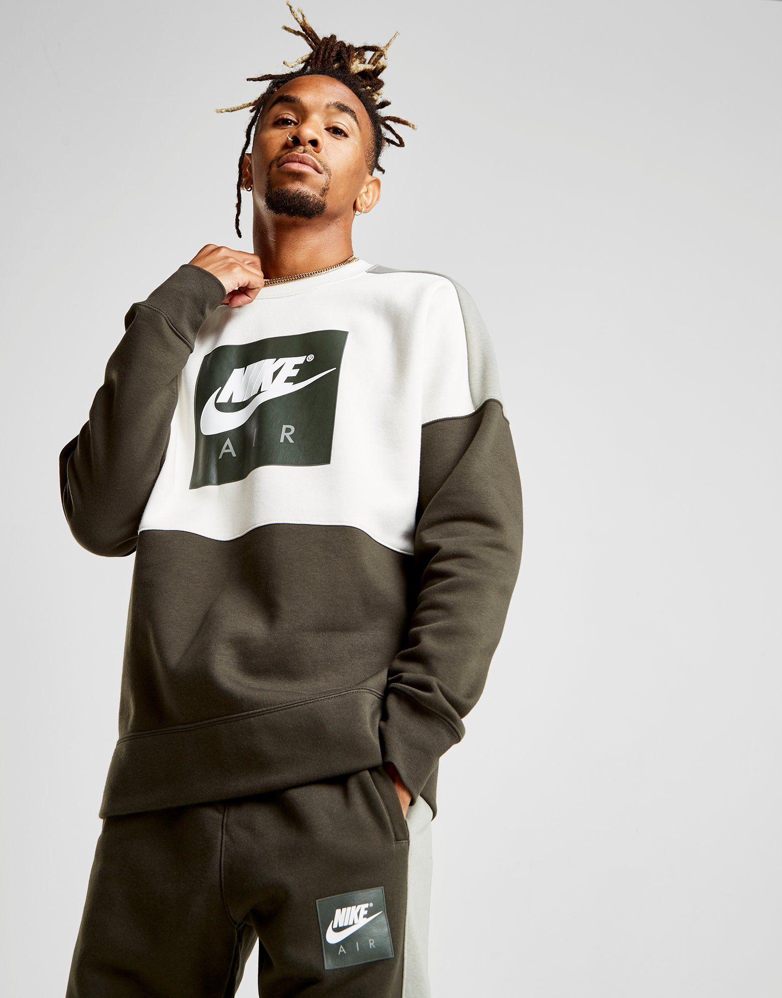 Nike Air Colourblock Sweatshirt - Only at JD -