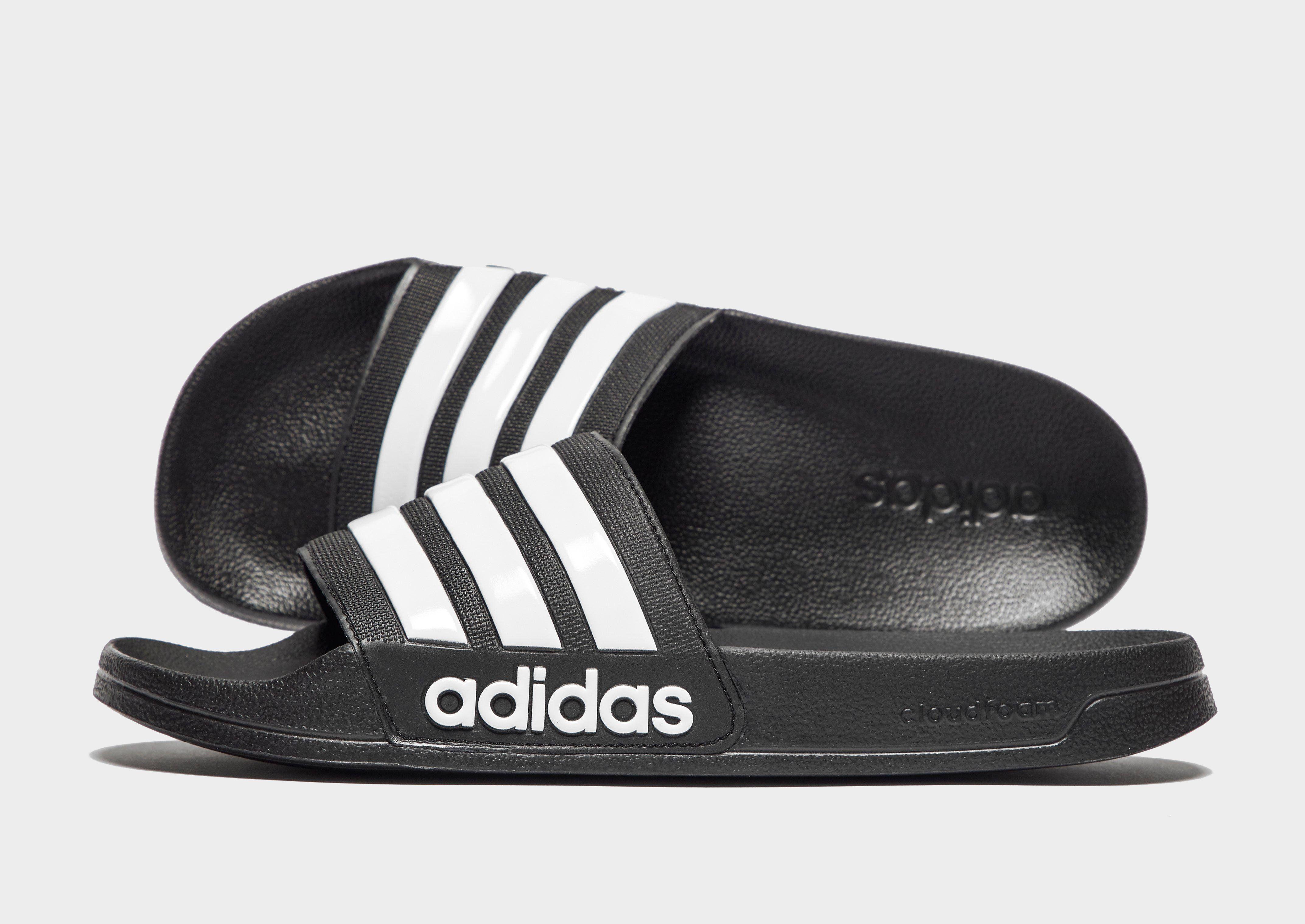 big sale 01e92 60597 adidas Cloudfoam Adilette Sandal Herre  JD Sports