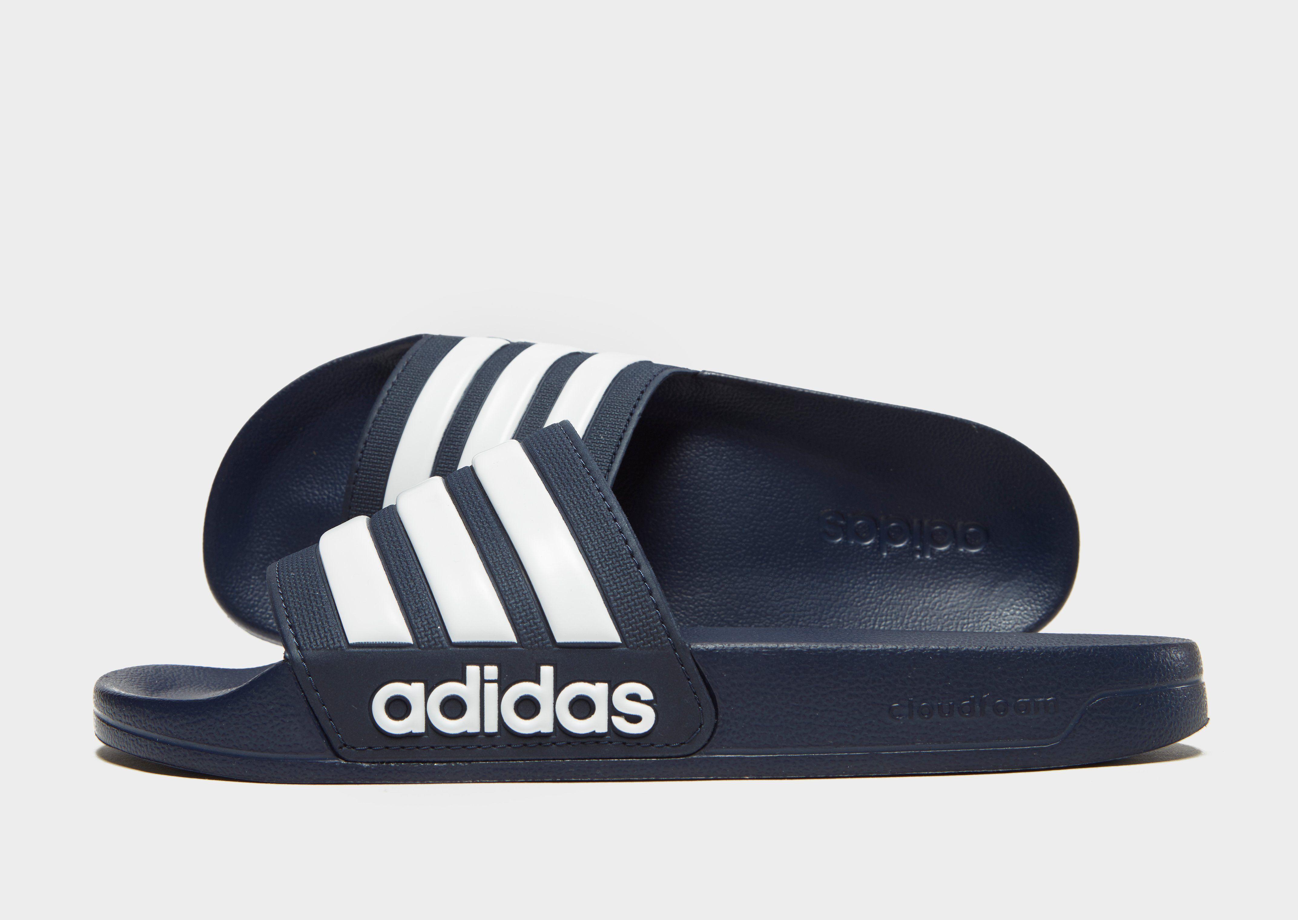 cheaper 8e775 39b52 adidas Cloudfoam Adilette Slides  JD Sports