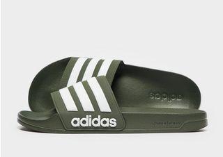 adidas Cloudfoam Adilette Slides Heren | JD Sports
