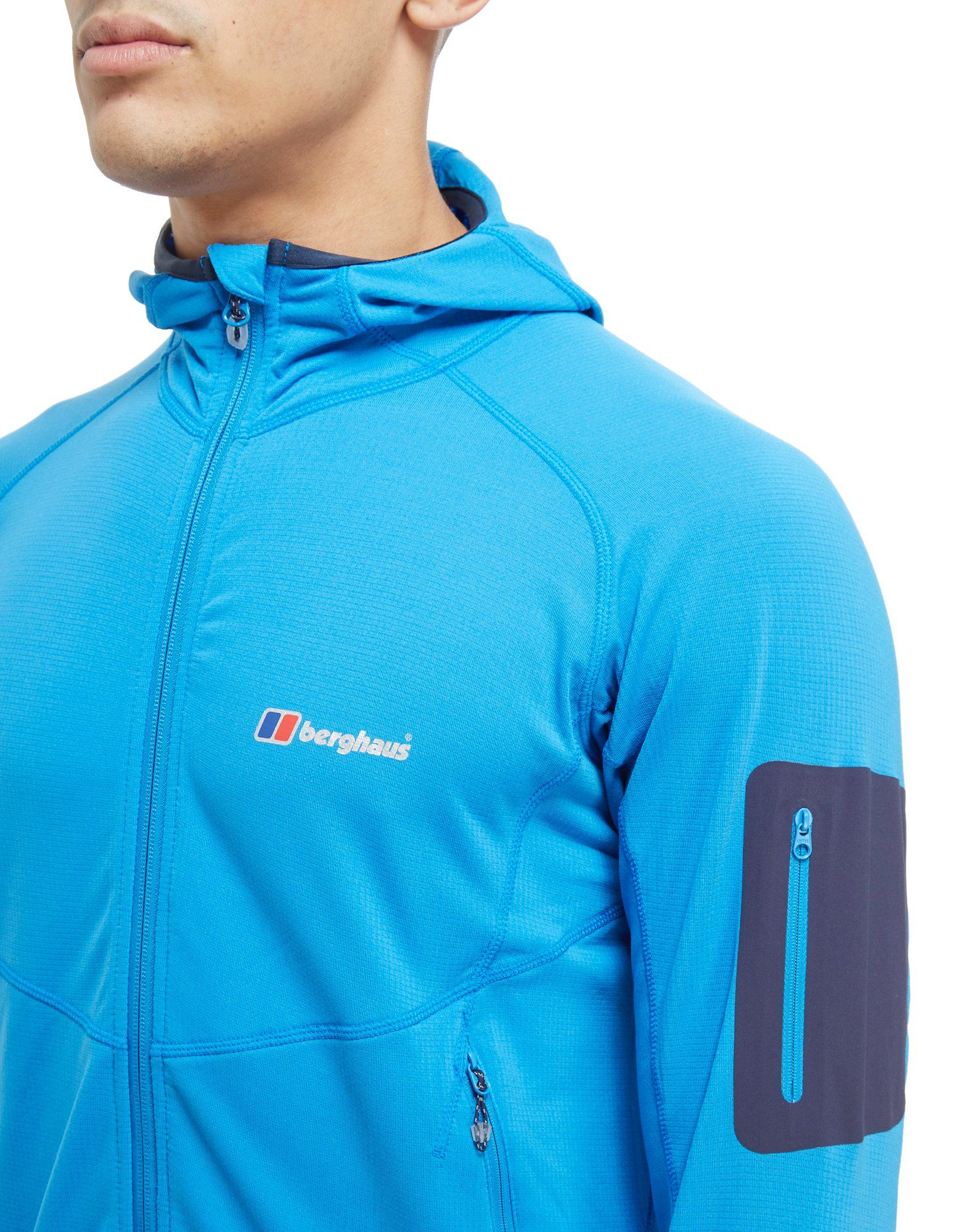 Berghaus Pravitale Lightweight Full Zip Jacket Blau