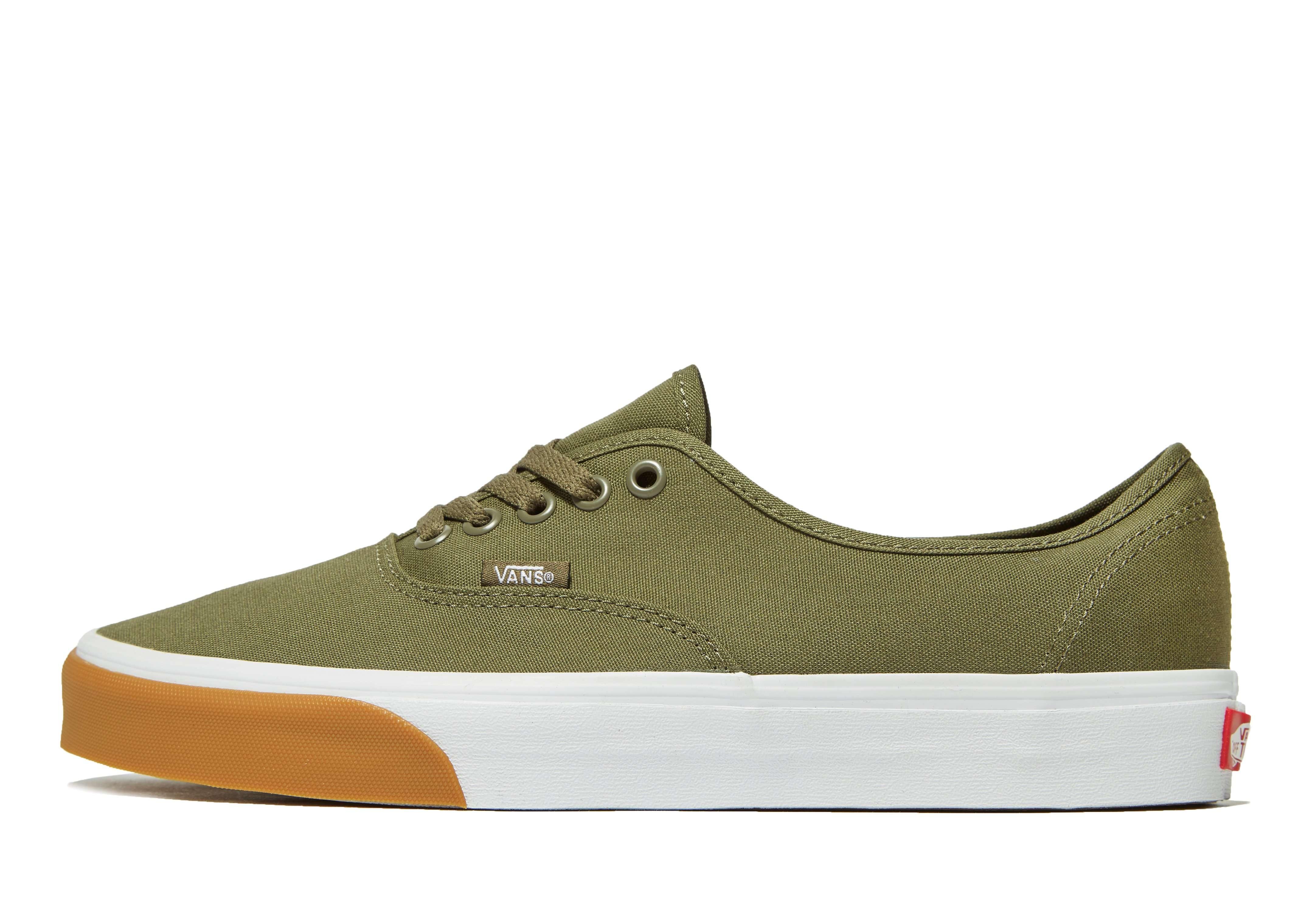 Vans Authentic - Men's Skate Shoes - Green 041015