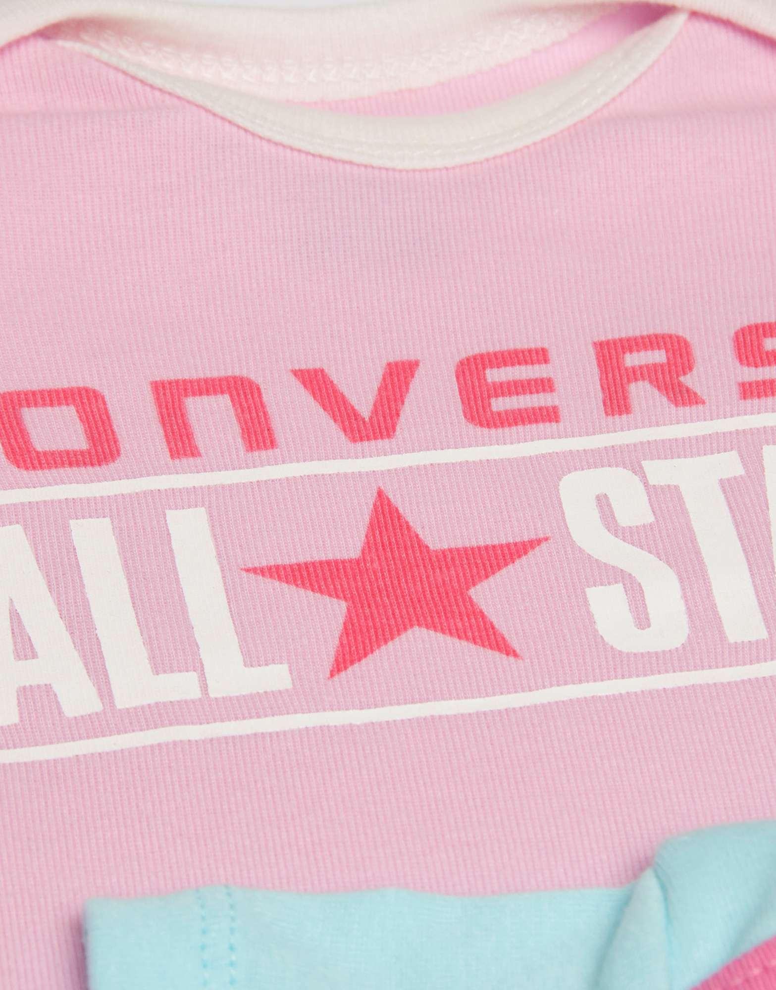 Converse 5 Piece Baby Grow Girls Set