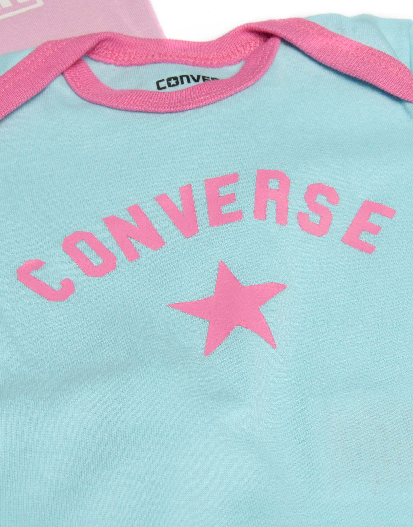 Converse 5 Piece Baby Grow Girls Set