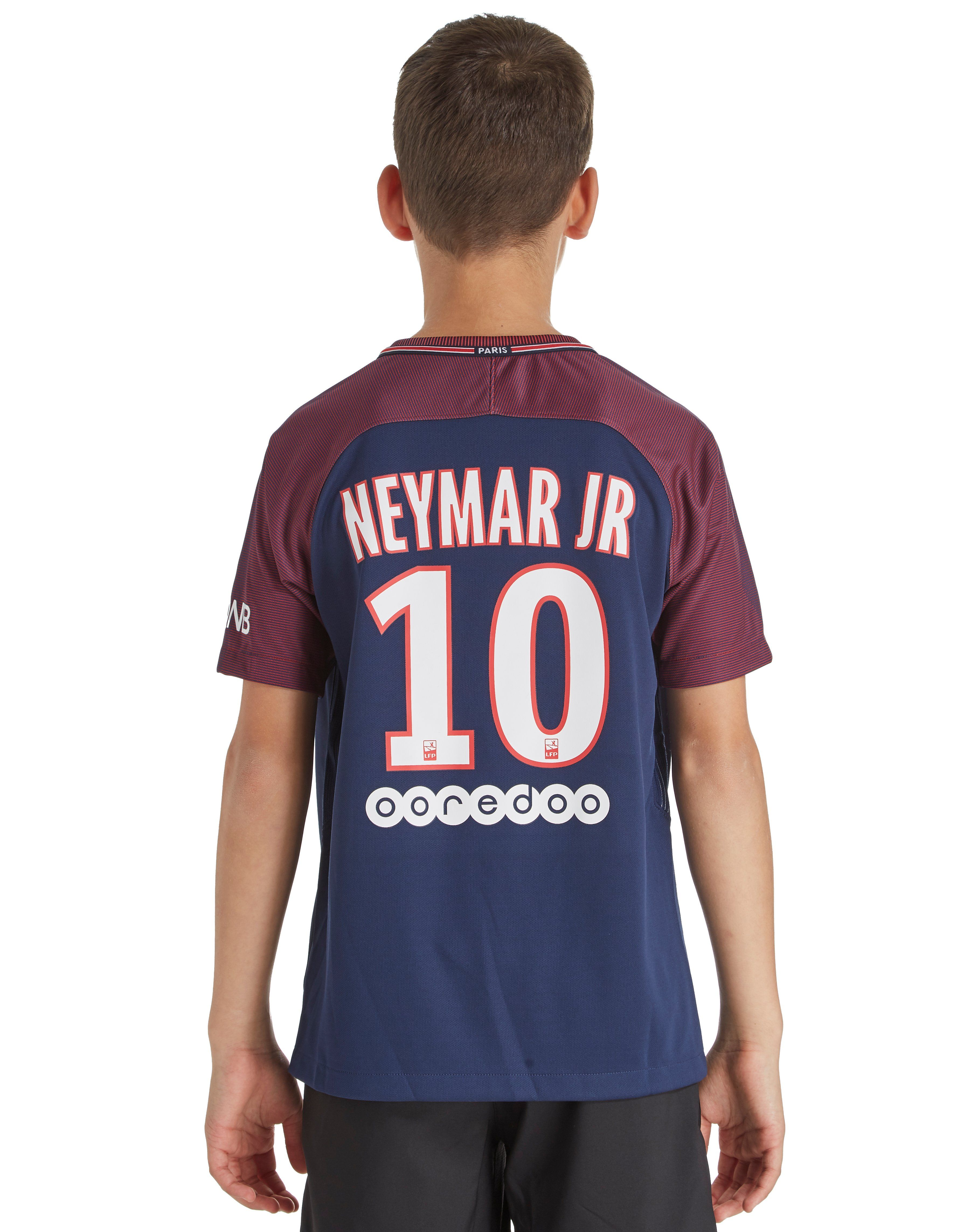 238f6b45429 Nike PSG FC Neymar 2017 18 Home Shirt Junior