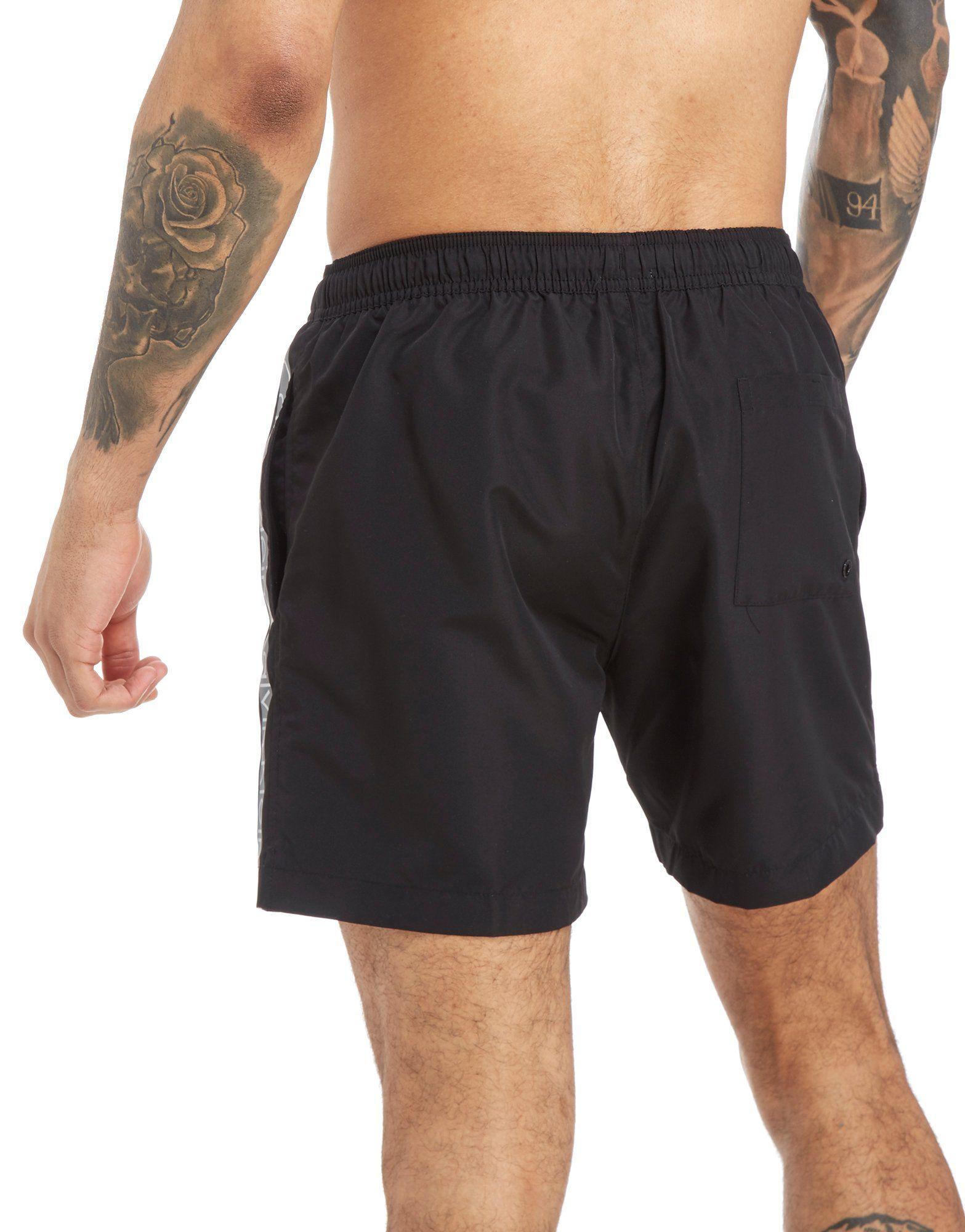 Calvin Klein Side Logo Swim Shorts