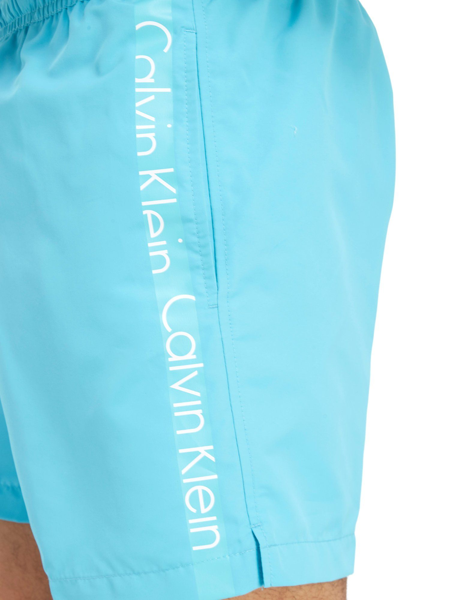 Calvin Klein Side Logo Swim Shorts