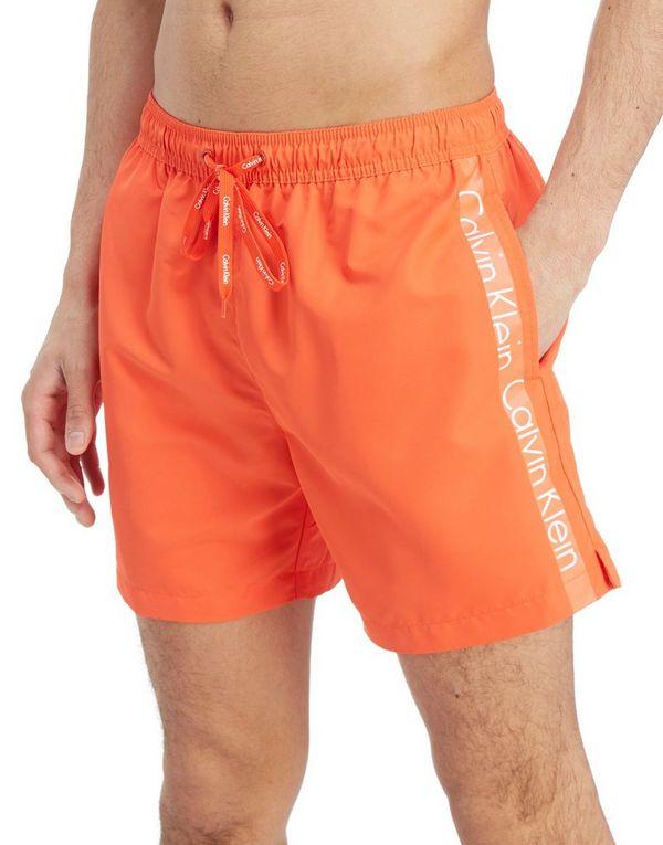 105dff9d62fe Calvin Klein Side Logo Swim Shorts