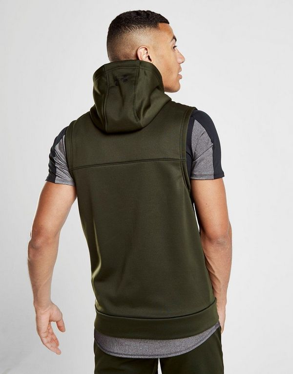 Fleece Armour Sans Sports À Manches Under Capuche Jd Homme Veste fHqYZwxn6