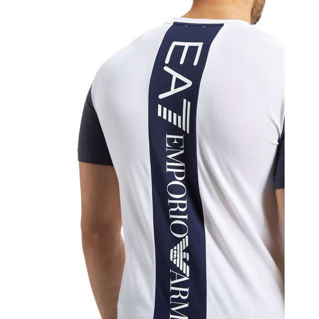 emporio armani ea7 back logo t shirt jd sports. Black Bedroom Furniture Sets. Home Design Ideas