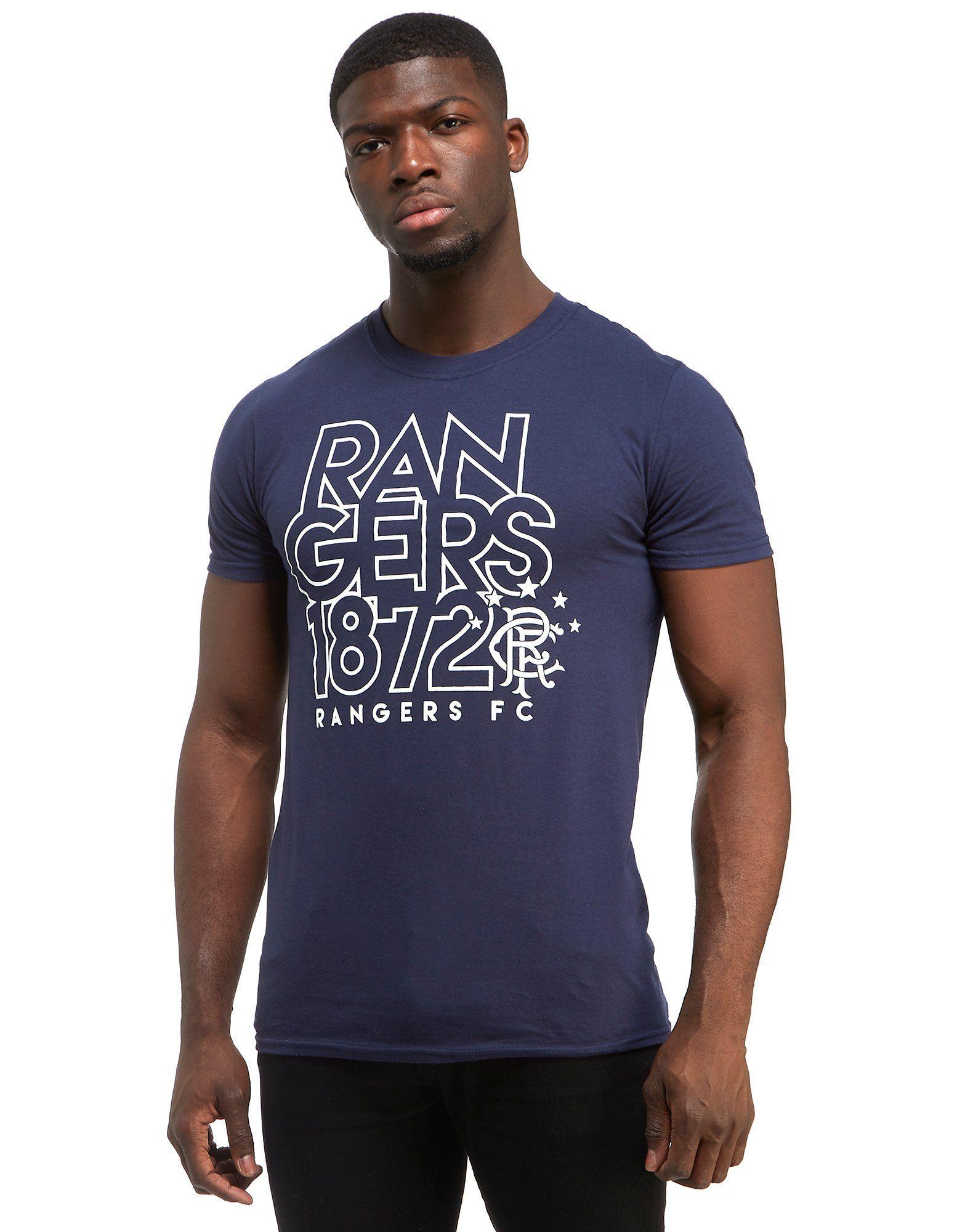 Official Team Rangers FC Logo T-Shirt