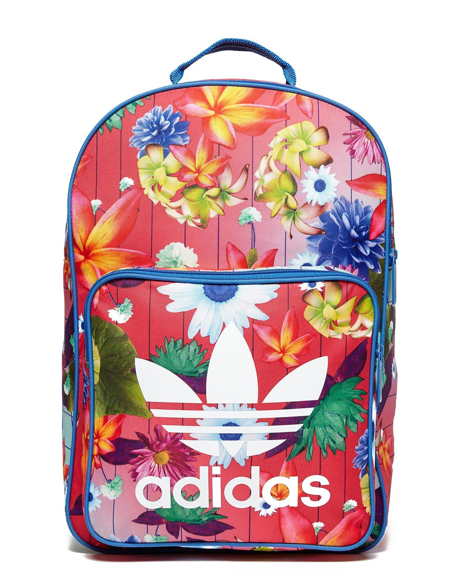 Shoptagr   Adidas Originals Classic Flower Backpack by Adidas Originals 341efade62