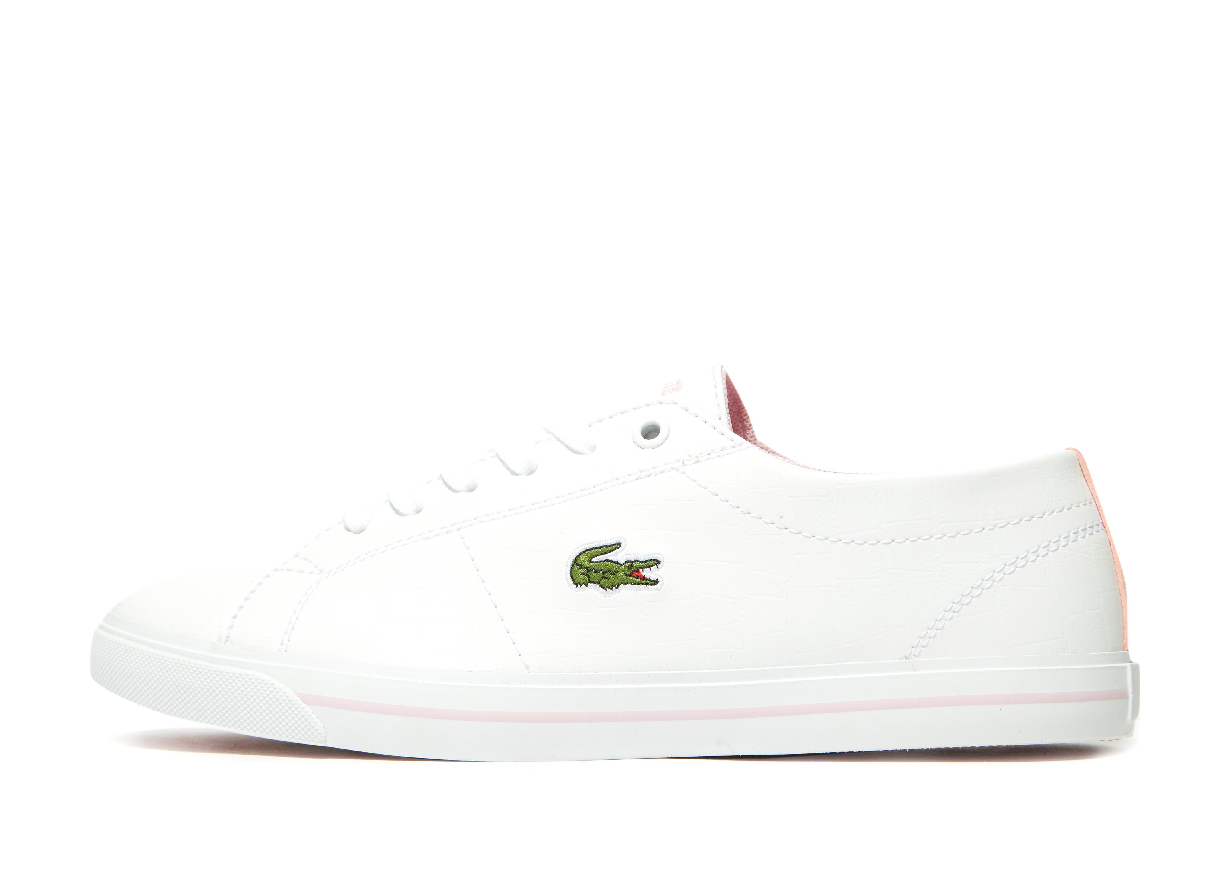 Lacoste Baskets Riberac Homme Blanc
