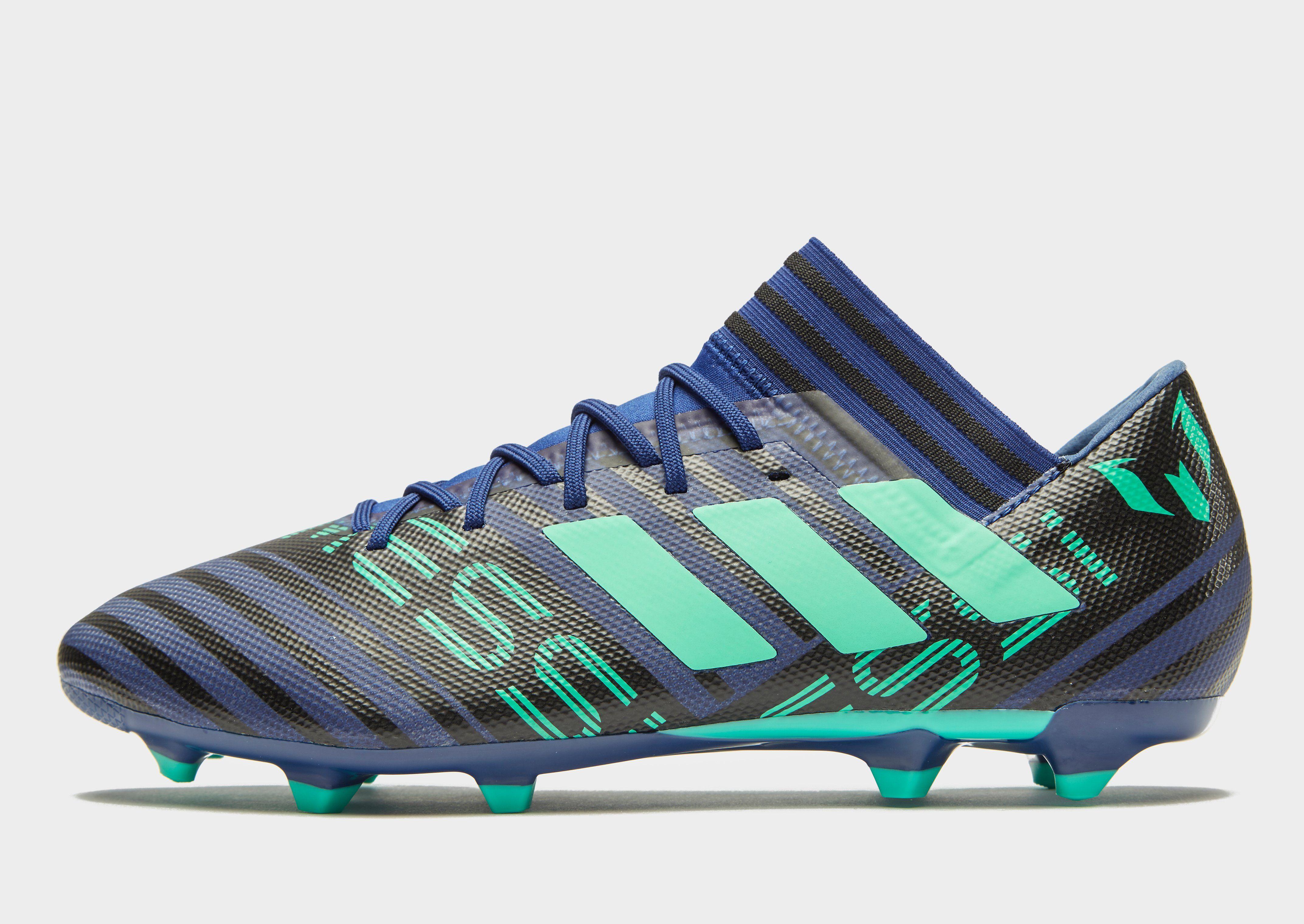 adidas Deadly Strike Nemeziz Messi 17.3 FG PRE ORDER - Men's Football Boots - Blue 046281