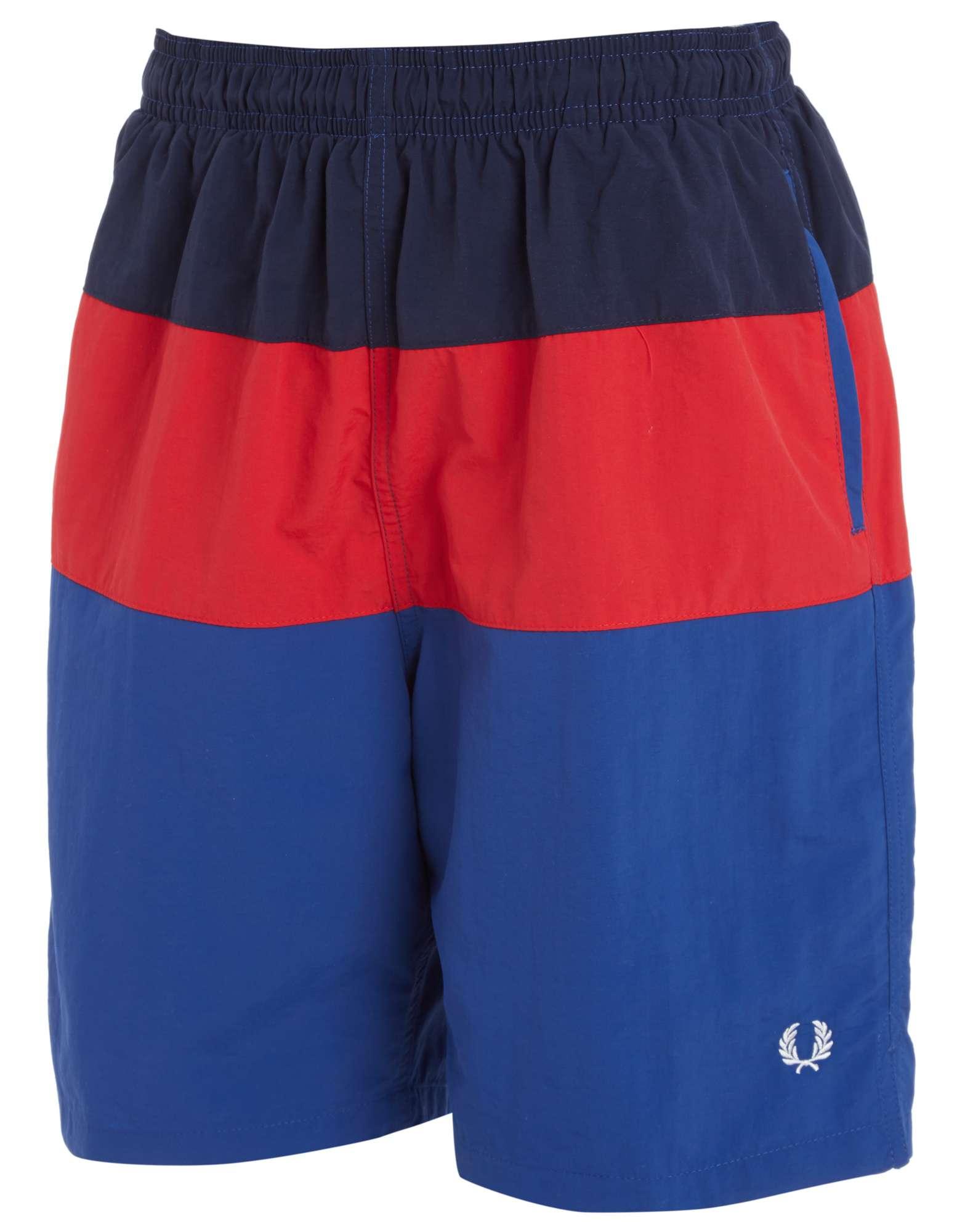 Fred Perry Colour Block Swim Shorts Junior