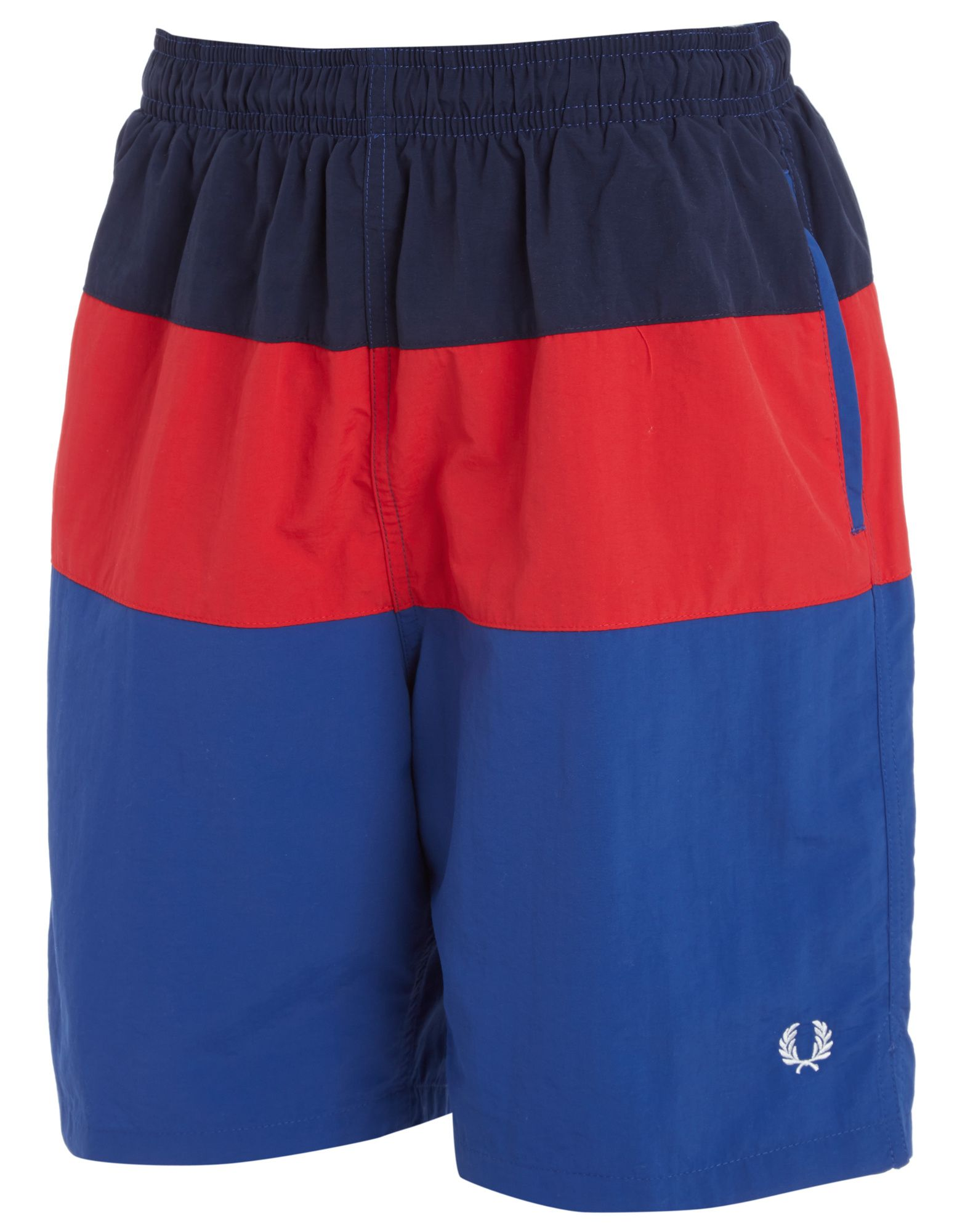 Fred Perry Colour Block Swim Shorts Junior