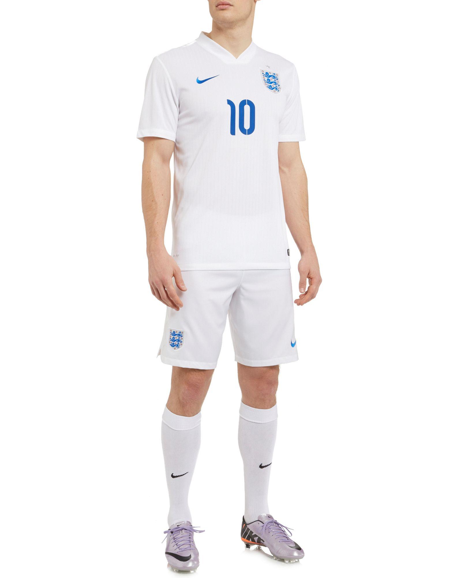 Nike England 2014 Rooney Stadium Home Shirt
