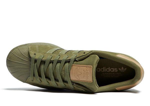 adidas superstar groen jd