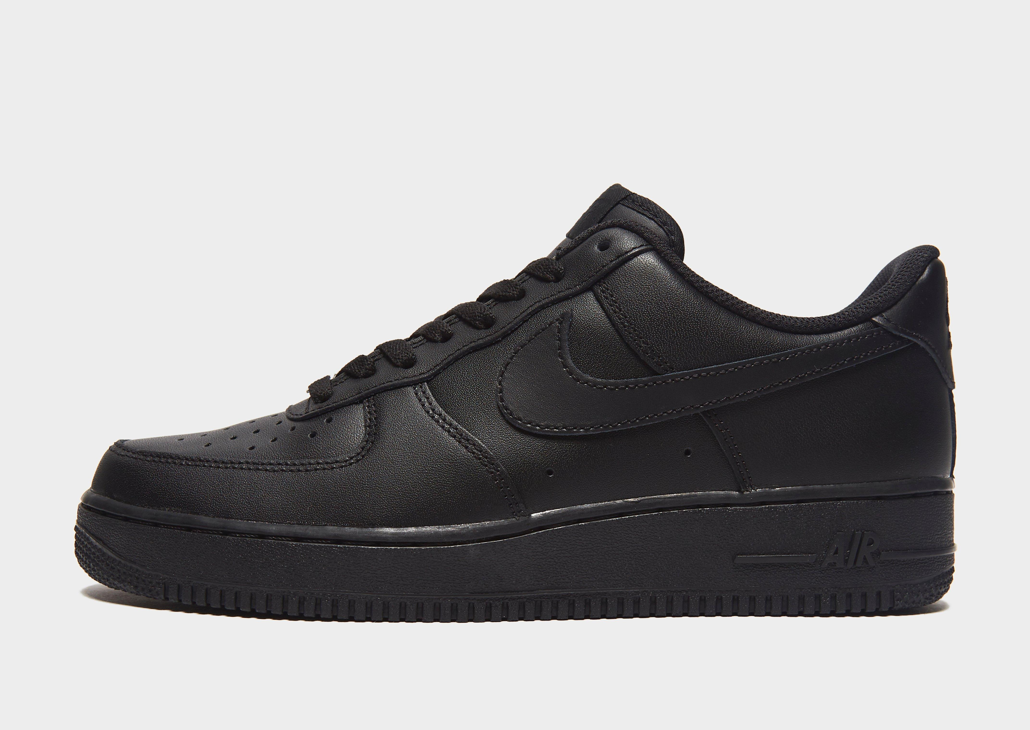 black nike air force 1 low womens