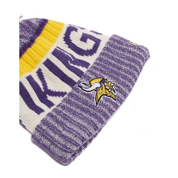 Knitting Unlimited Minneapolis : New era minnesota vikings sideline knitted hat jd sports
