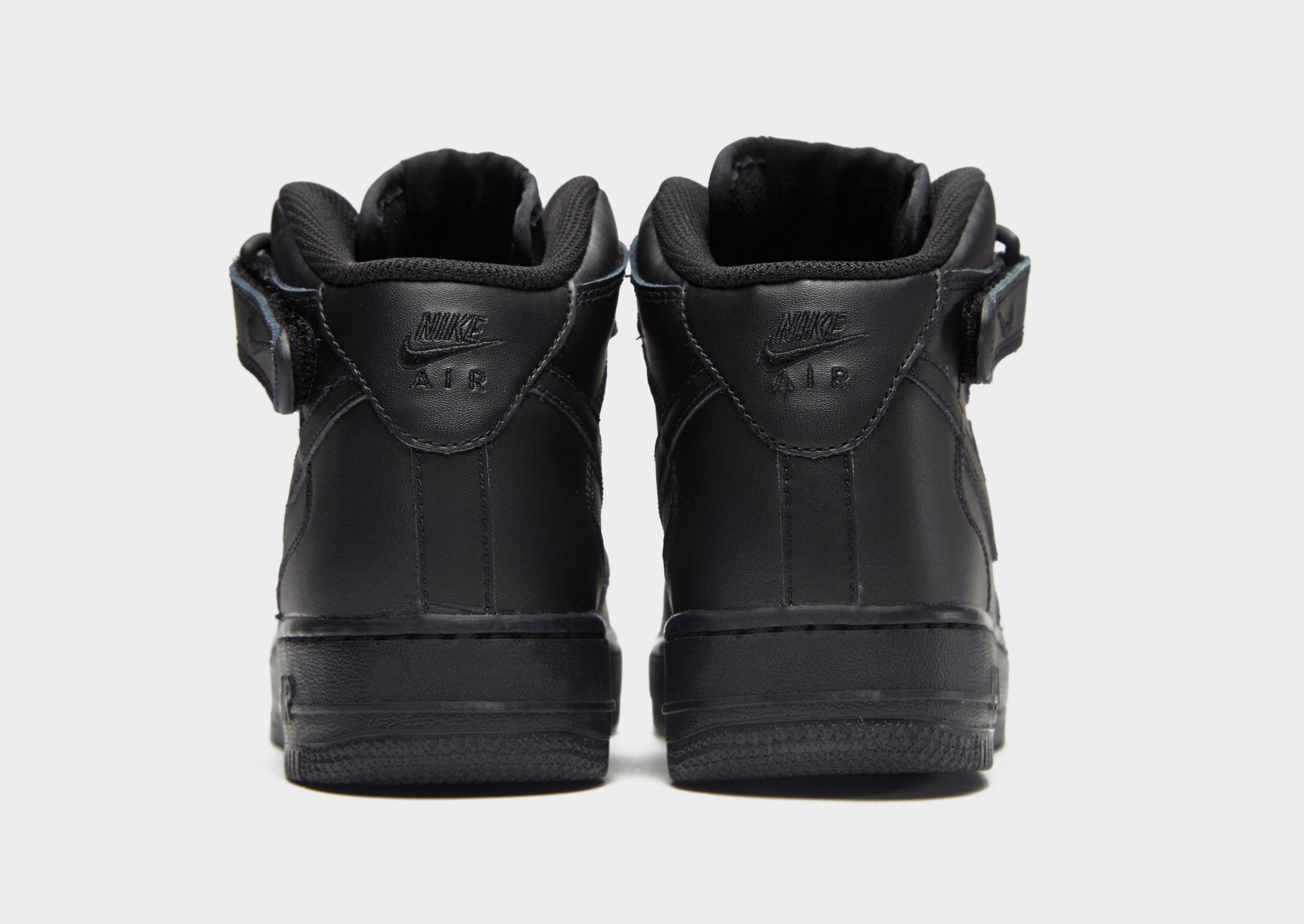 nike air force junior black