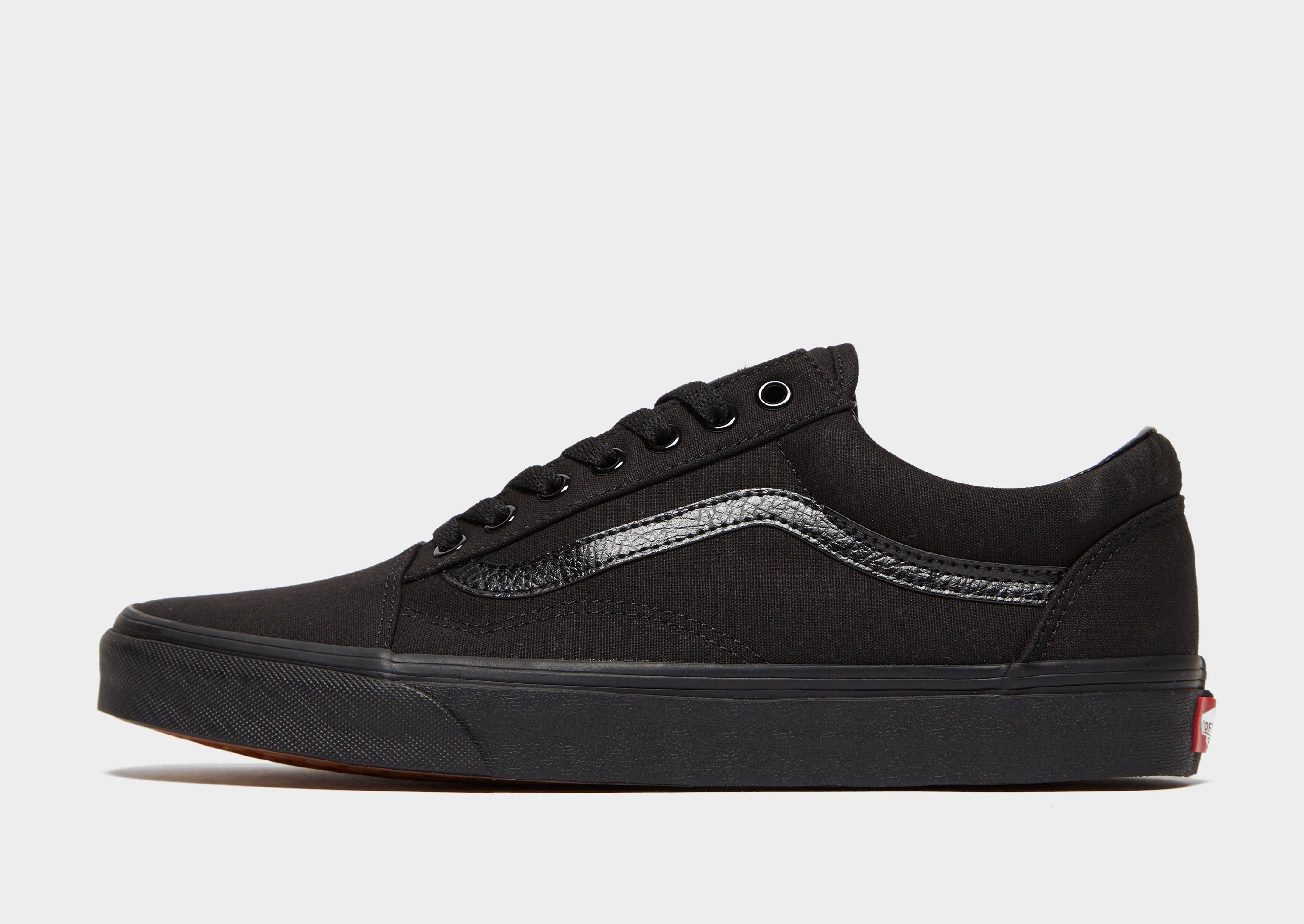 mens black vans sale