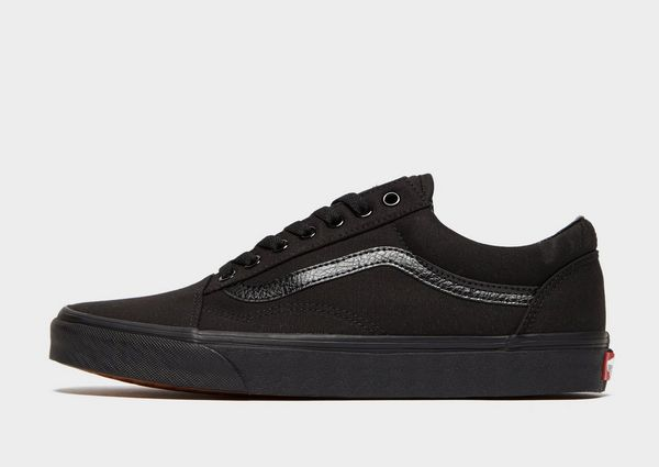vans old school black bebe