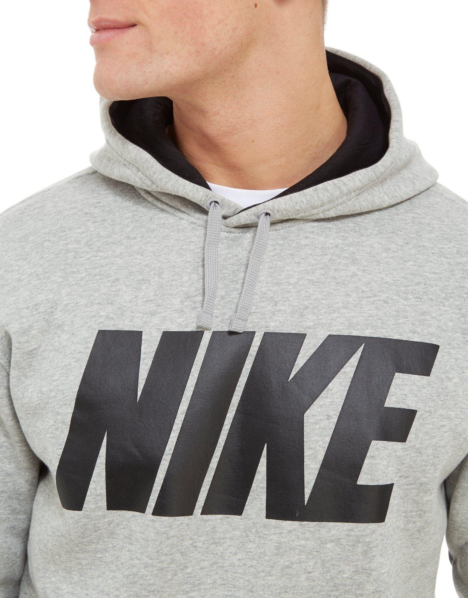 Nike Club Hoodie Grau