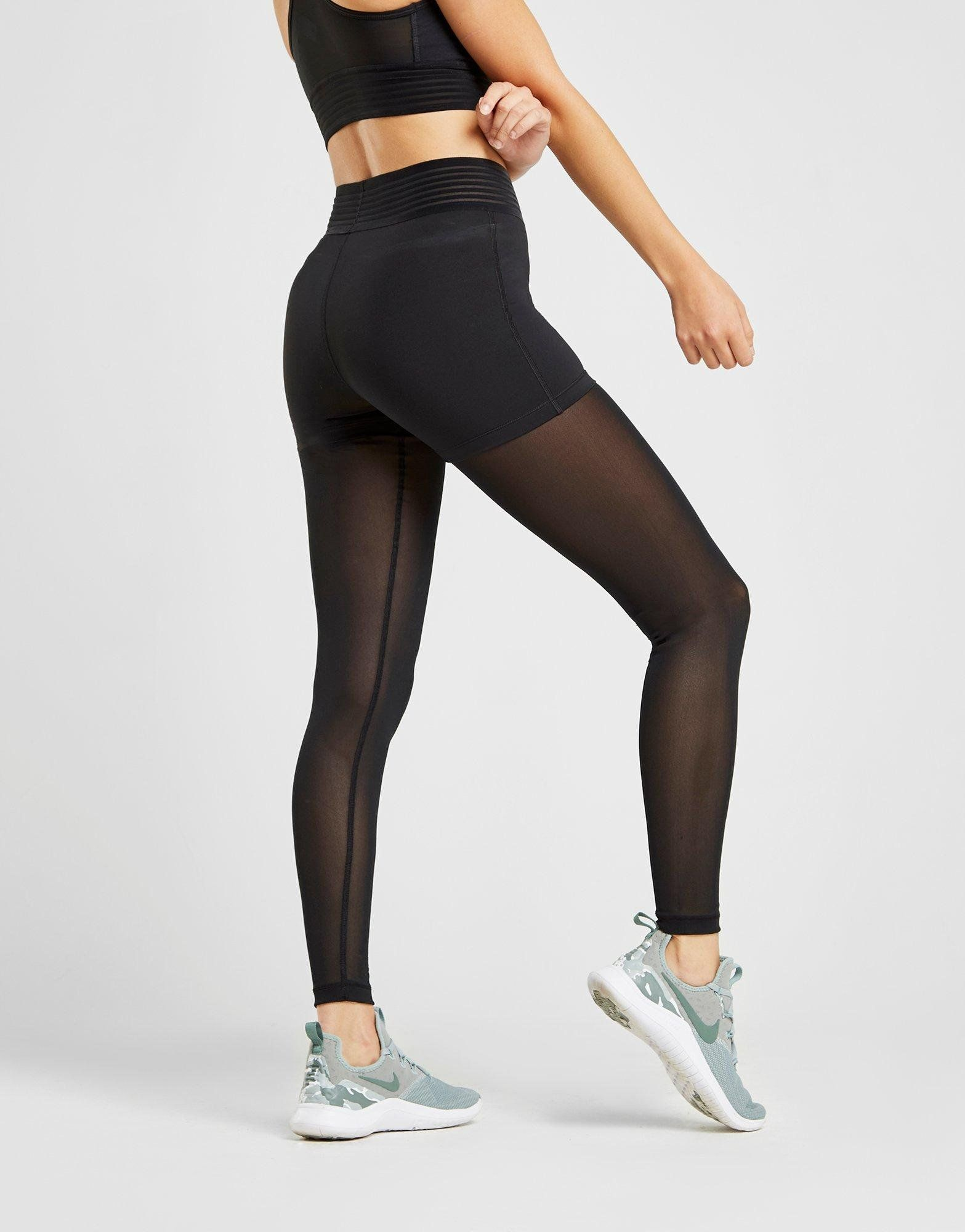 Nike Pro Training Deluxe Mesh Tights Dame