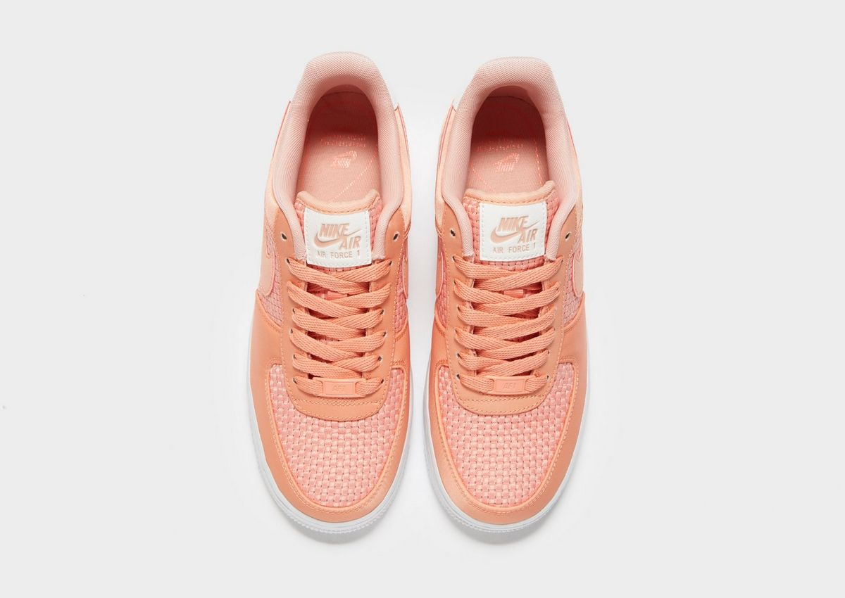 nike air force 1 woven donna rosso 050121