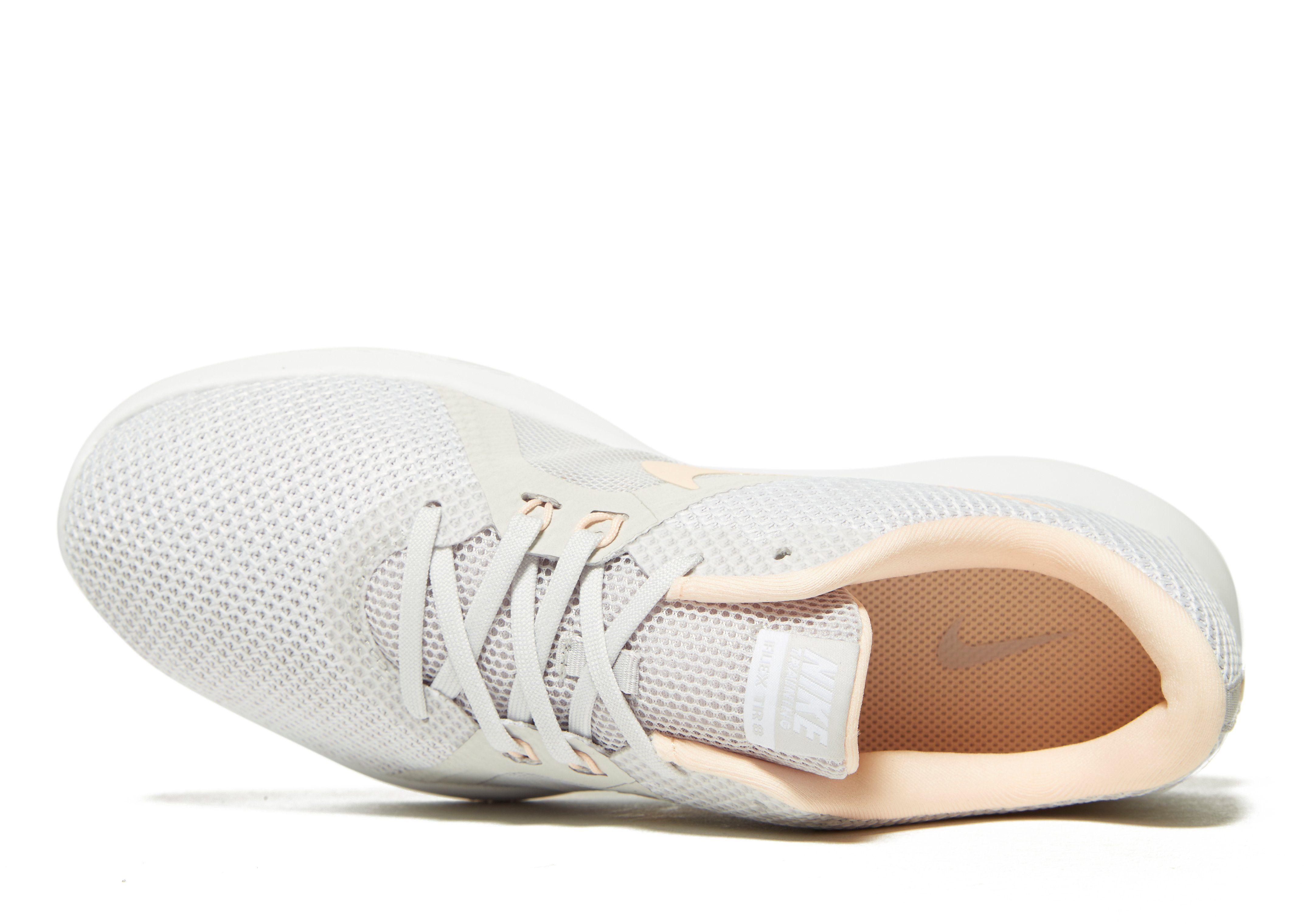 Nike Flex TR8 Damen Grau Sonnenschein 4bqSjnb1x