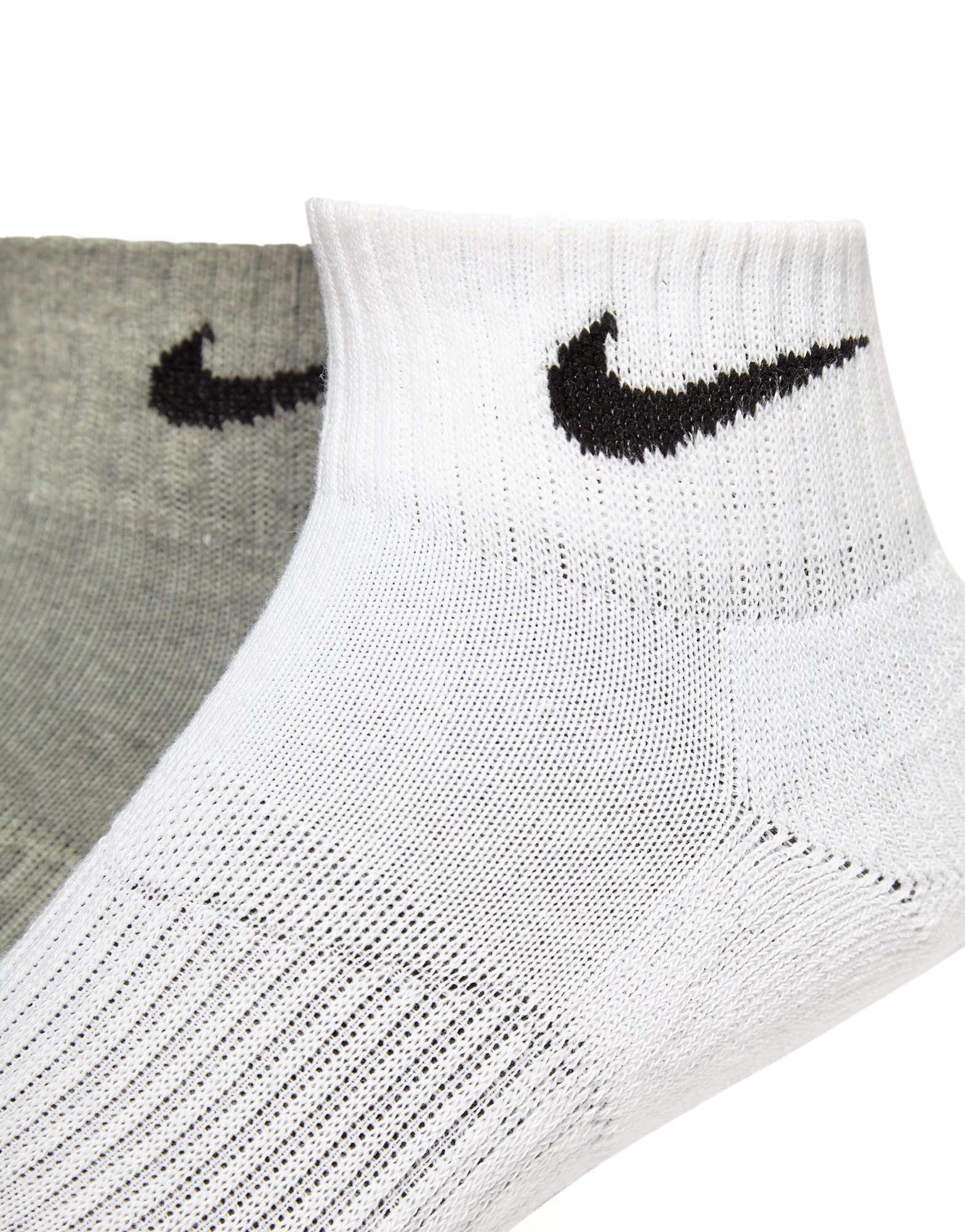 Nike 3 Pack Quarter Socks