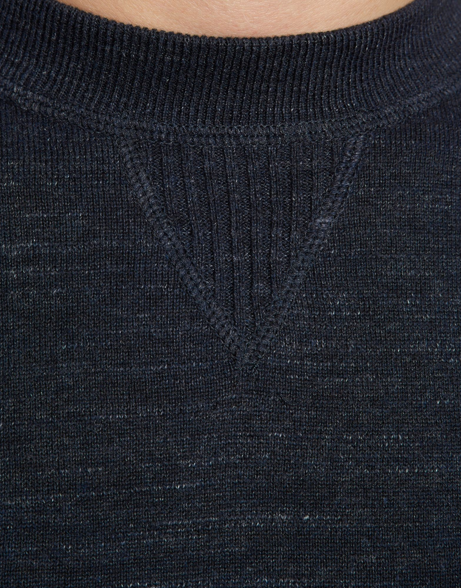 Fred Perry Vintage Crew Neck Knit
