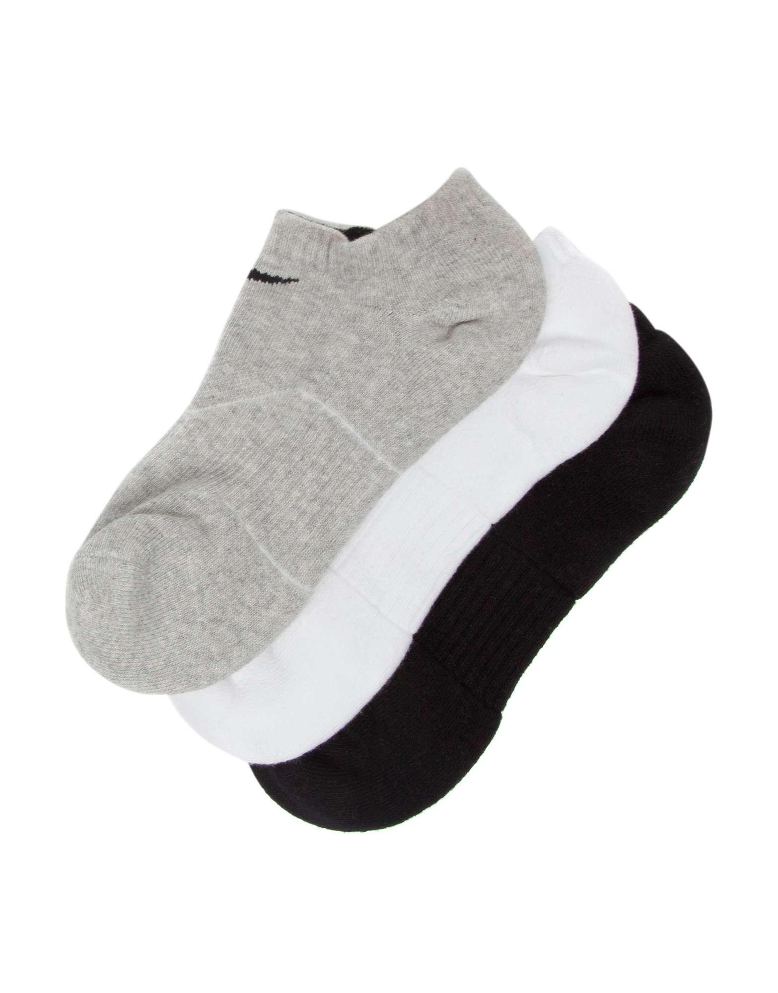 Nike 3 Pack Low Cut Socks Junior