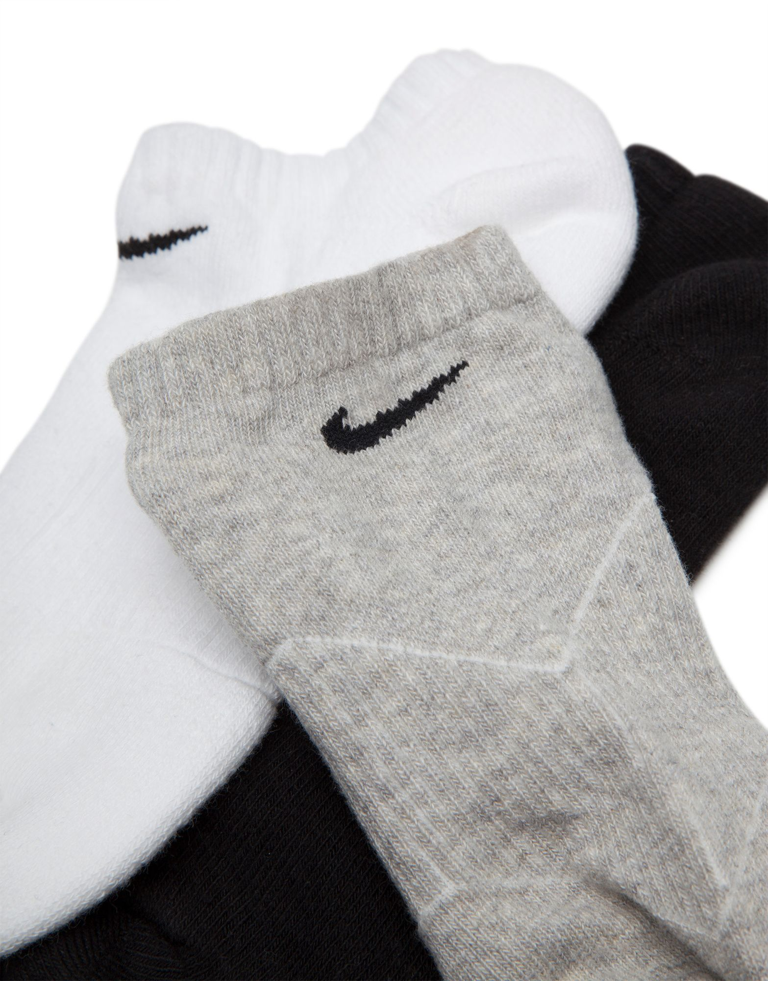 Nike 3 Pack Low Cut Socks Junior