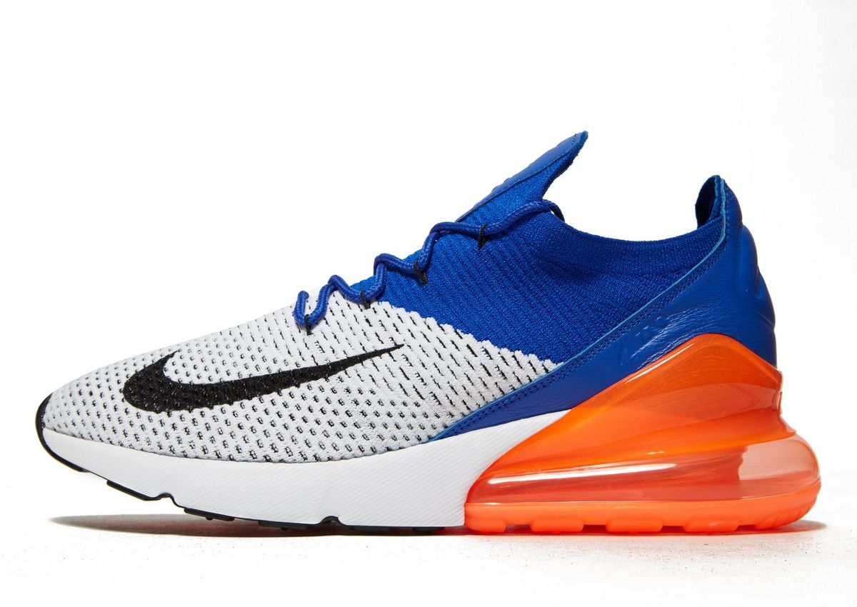 separation shoes 0f891 c6256 nike air max 270 flyknit celeste 050796