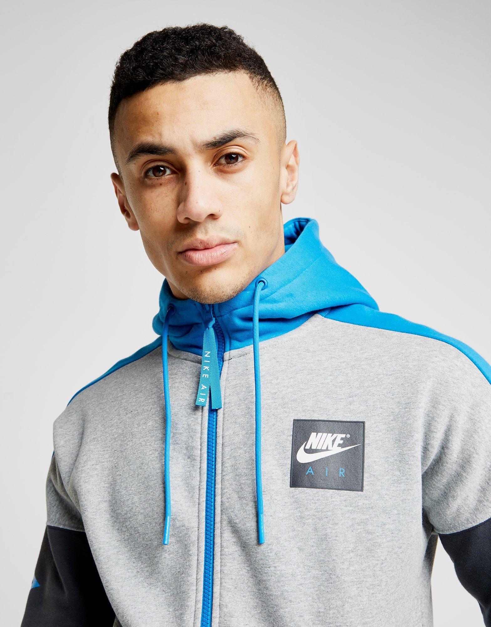 Nike Air Full Zip Hoodie Grau