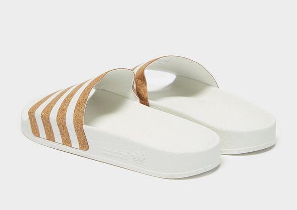 on sale d03cb 9cc0c adidas Originals Adilette Slides Womens