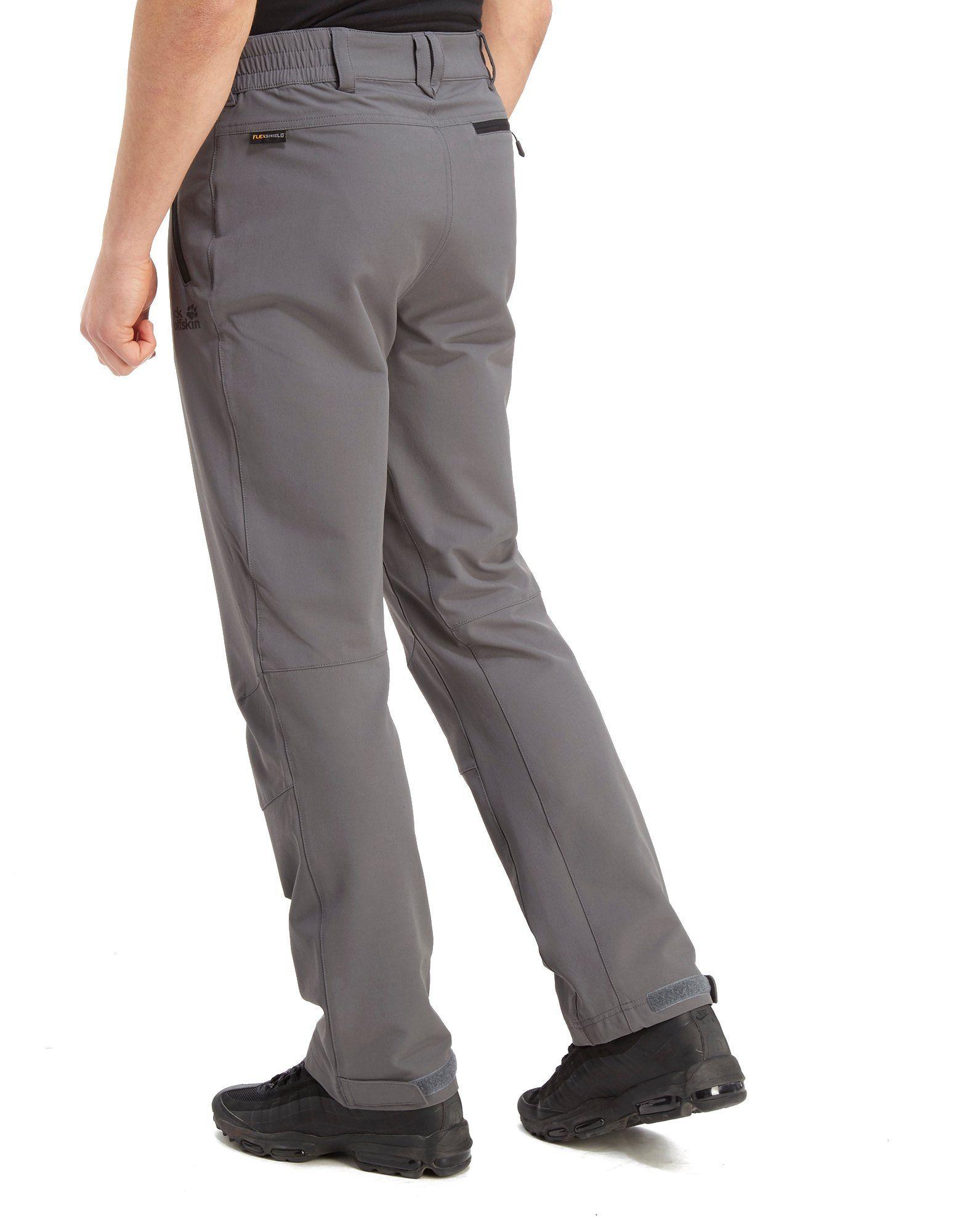 Jack Wolfskin Softshell Trousers Grau