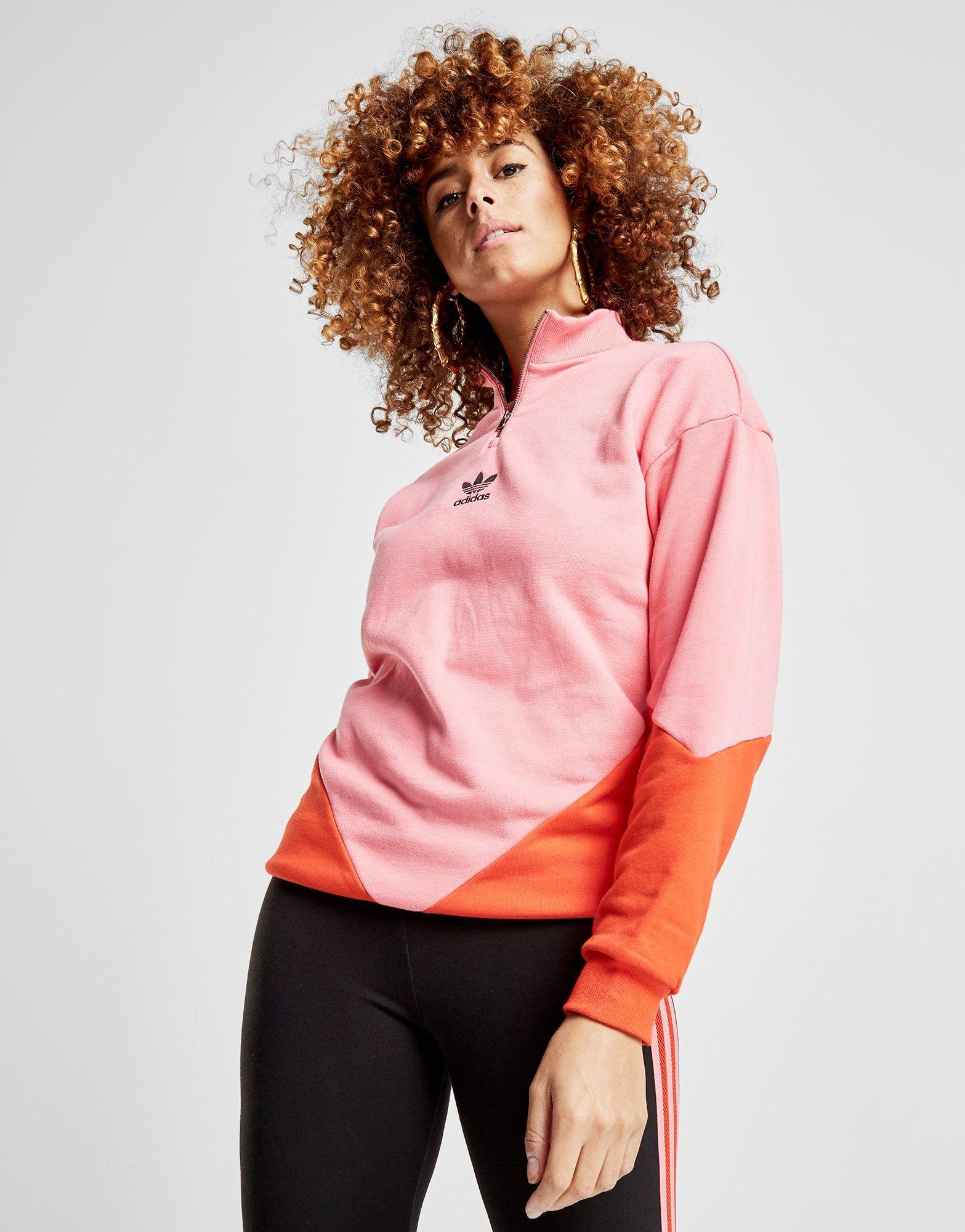 adidas Originals Colorado 1/2 Zip Top Dames