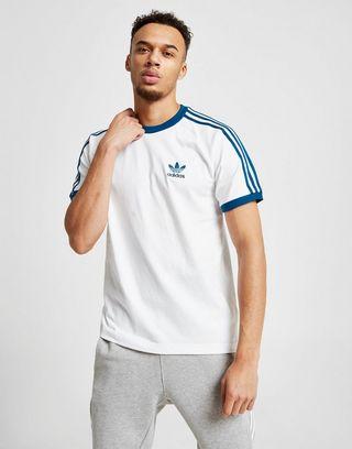 California 3 Stripe T Shirt by Adidas Originals