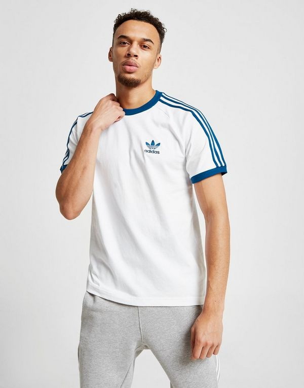 adidas Originals 3-Stripes California Short Sleeve T-Shirt  585bd27c44