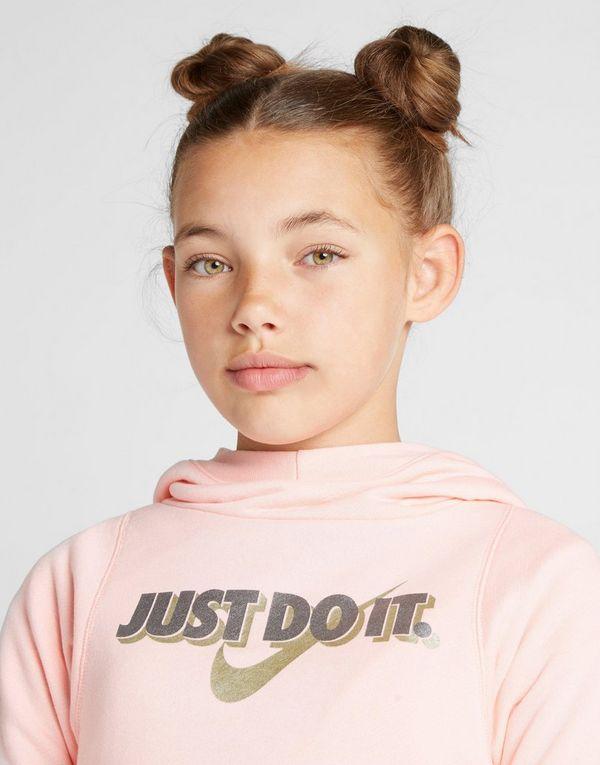 Capucha It Sports Do Girls' Sudadera Con Jd Crop Just Nike Júnior 7qwaEYg6