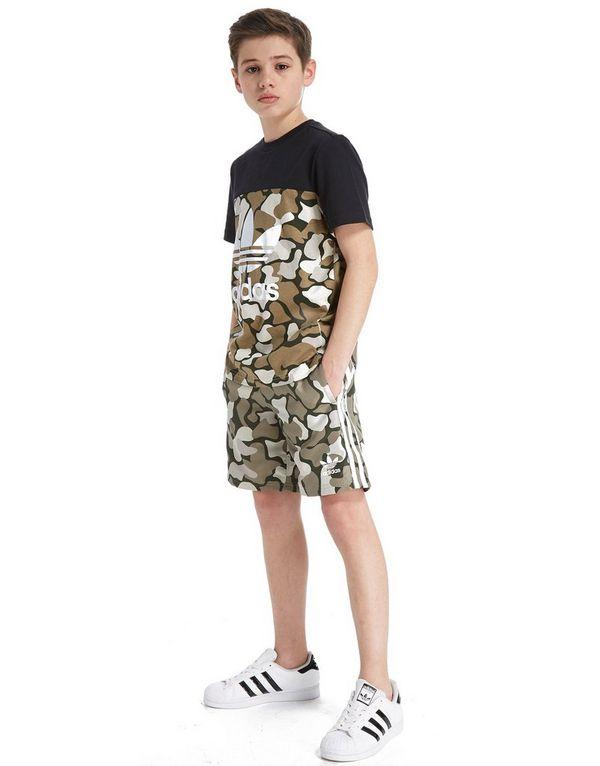 adidas Originals Trefoil Camo Badbyxor Junior  a40f23763d4a7