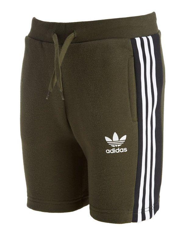 Adidas Sports Trefoil Jd Junior Shorts Stripes Originals Fleece 3 TwrT8R